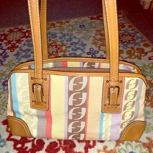 Fossil NWOT handbag. Colorful. Lots of pockets